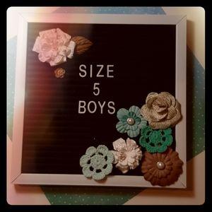 Size 5 boy clothes